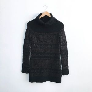 Theory wool-blend turtleneck - size Small